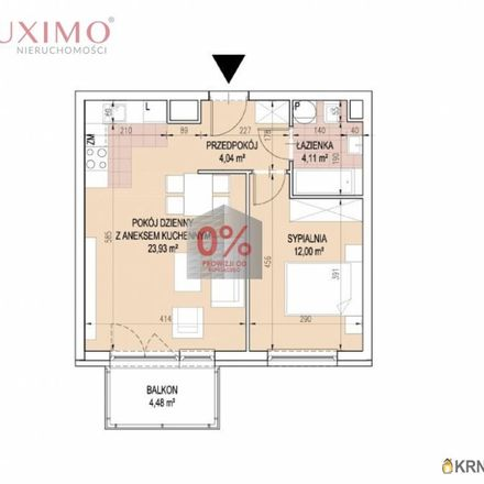 Rent this 5 bed apartment on Parking MPK S.A. in Jana Brożka, 30-405 Krakow