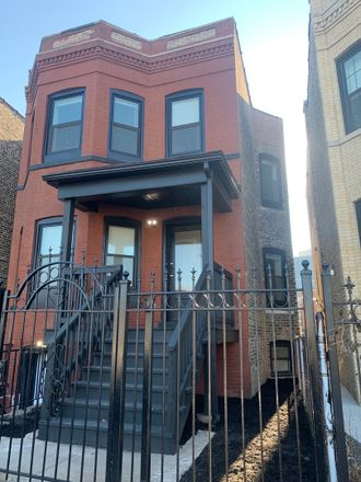Rent this 2 bed townhouse on 2739 West Fullerton Avenue in Chicago, IL 60647