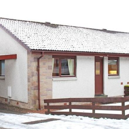 Rent this 2 bed house on Balnafettack Crescent in Inverness IV3 8TF, United Kingdom