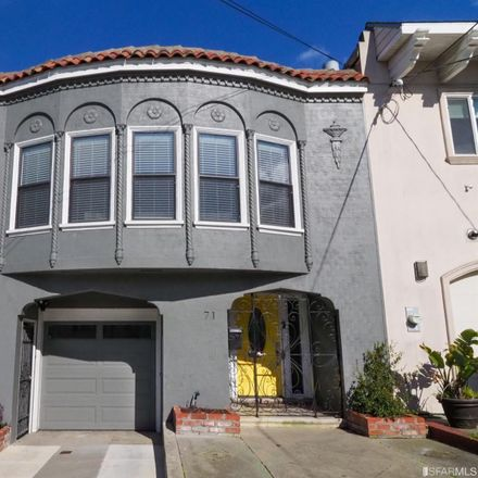 Rent this 3 bed house on 71 Curtis Street in San Francisco, CA 94112
