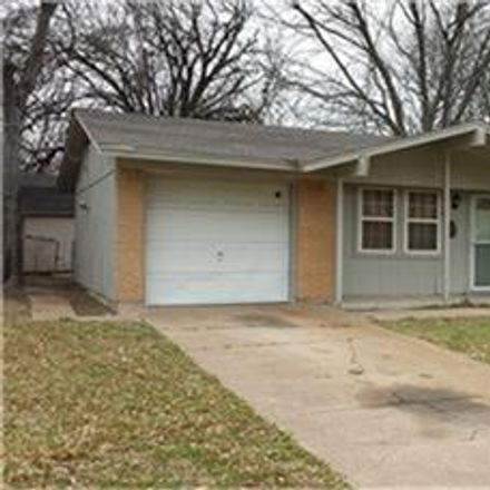 Rent this 3 bed house on 2308 Bamboo Street in Mesquite, TX 75150