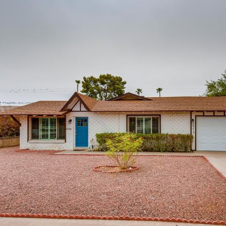 Rent this 3 bed house on 8213 East Mitchell Drive in Scottsdale, AZ 85251