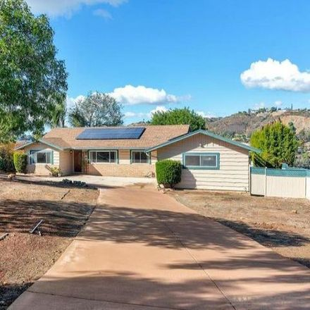 Rent this 3 bed house on 3406 Hartzel Drive in San Diego County, CA 91977
