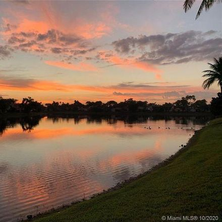 Rent this 2 bed condo on 18266 Mediterranean Boulevard in Country Club, FL 33015