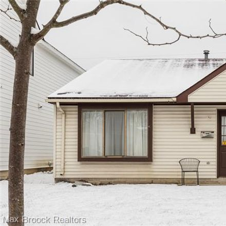 Rent this 2 bed house on 1253 Cole Street in Birmingham, MI 48009