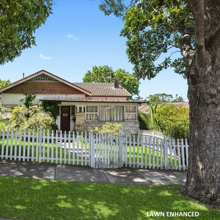 Rent this 4 bed house on 105 Artarmon Road