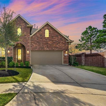 Rent this 4 bed house on Mariah Rose Court in Towne Lake, TX 77433