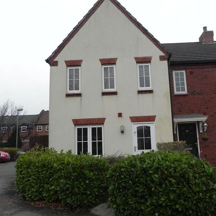 Rent this 3 bed house on Rogerson Road in Lichfield WS13 8PE, United Kingdom