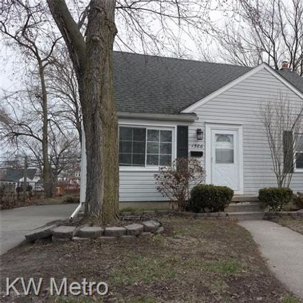 Rent this 3 bed house on 1586 West Saratoga Street in Ferndale, MI 48220
