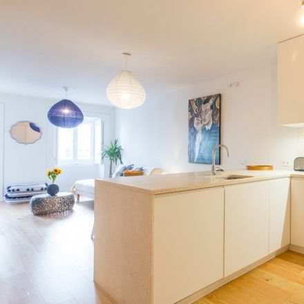 Rent this 1 bed apartment on Vila Luz Pereira in 1100-335 Lisbon, Portugal