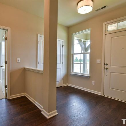 Rent this 4 bed townhouse on Grand Central Station in Apex, NC 27502-3918