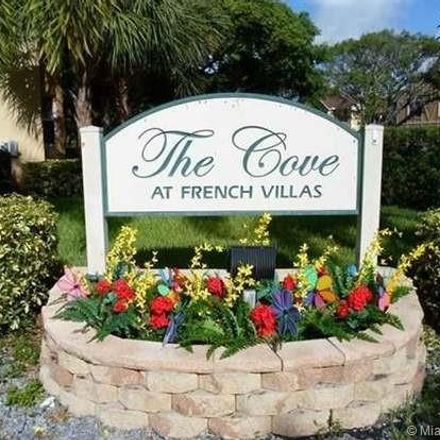 Rent this 3 bed condo on 7820 Northwest 7th Street in Pembroke Pines, FL 33023