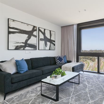 Rent this 1 bed apartment on 2406/1 Geoffrey Bolton Avenue