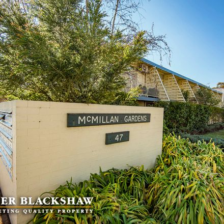 Rent this 1 bed apartment on 21/47 McMillan Crescent