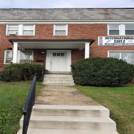 Rent this 1 bed condo on 5407 Park Heights Avenue in Baltimore, MD 21215