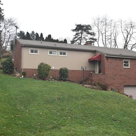 Rent this 4 bed house on 135 Grienbrier Drive in Carnegie, PA 15106