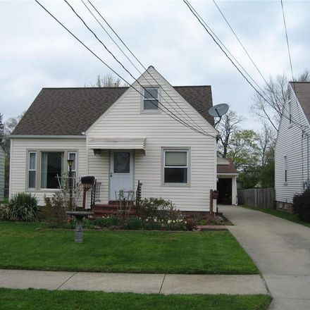 Rent this 3 bed house on 13711 Wolf Avenue in Garfield Heights, OH 44125