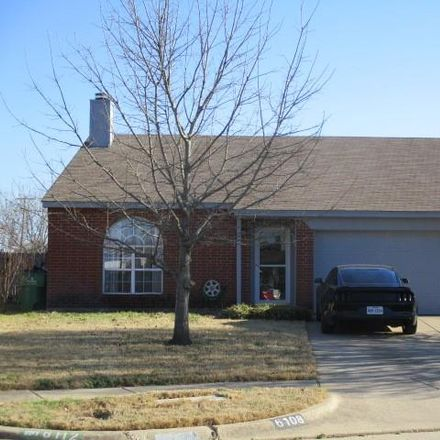 Rent this 4 bed loft on 6108 Grayson Court in Watauga, TX 76148