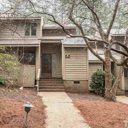 Rent this 3 bed townhouse on 89 Stoneridge Road in Durham, NC 27705