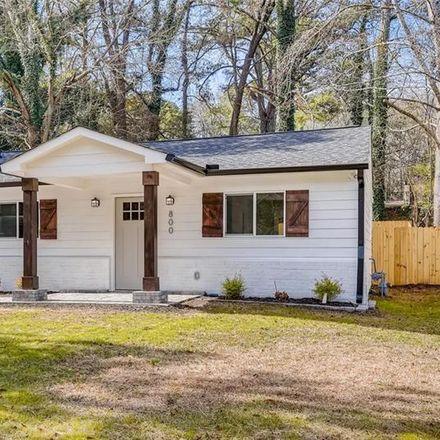 Rent this 3 bed house on 800 Ayrshire Circle Northwest in Atlanta, GA 30318