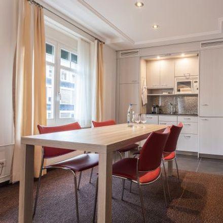 Rent this 3 bed apartment on Beckenhofstrasse 22 in 8006 Zurich, Switzerland