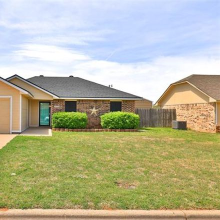 Rent this 3 bed house on 3850 Georgetown Drive in Abilene, TX 79602