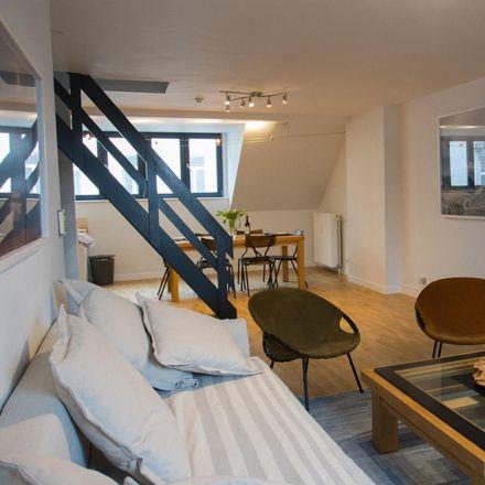 Rent this 1 bed apartment on Chaussée de Charleroi 41 in 1060 Saint-Gilles, Belgium