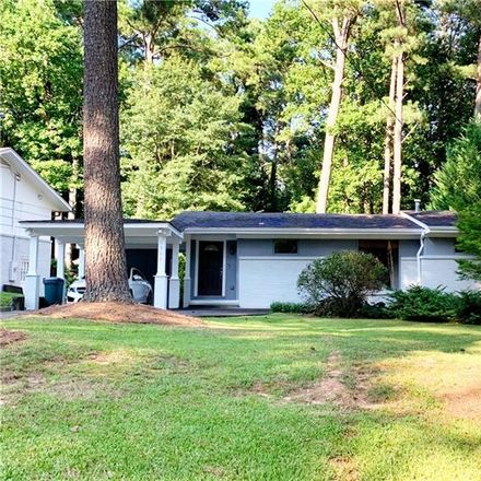 Rent this 3 bed house on 1968 Fairway Circle Northeast in Brookhaven, GA 30319