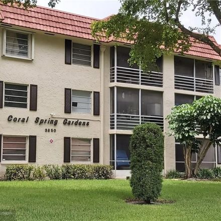 Rent this 2 bed condo on 3550 Northwest 104th Avenue in Coral Springs, FL 33065