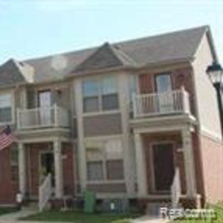 Rent this 3 bed condo on Downing Street in Washington Township, MI 48095-2555