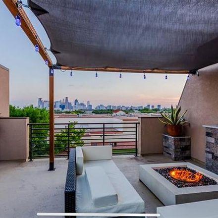 Rent this 3 bed condo on 1717 Annex Avenue in Dallas, TX 75204
