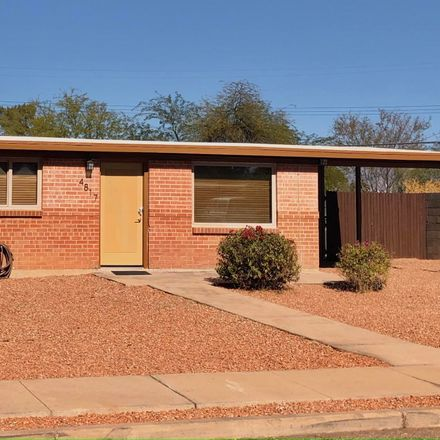 Rent this 3 bed house on 4817 East 28th Street in Tucson, AZ 85711