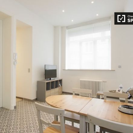 Rent this 1 bed apartment on Avenue de la Brabançonne - Brabançonnelaan 45 in 1000 Ville de Bruxelles - Stad Brussel, Belgium