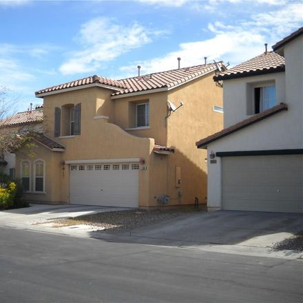 Rent this 3 bed loft on 11044 African Sunset St in Henderson, NV
