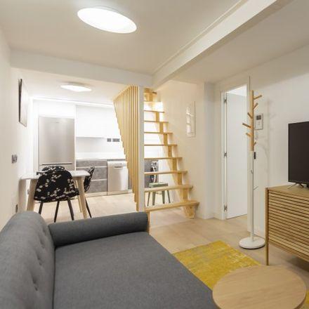 Rent this 1 bed apartment on Don Fruta in Calle de Antonio López, 28019 Madrid
