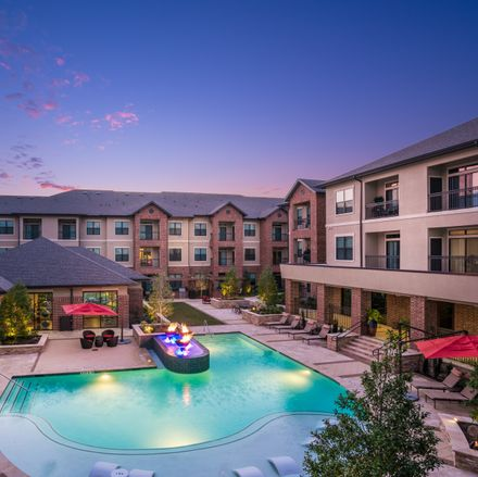 Rent this 2 bed apartment on Grogan's Mill Village Center in Randalls, 2250 Buckthorne Place