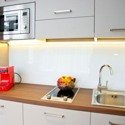 Rent this 1 bed apartment on Westendstraße 170 in 80686 Munich, Germany