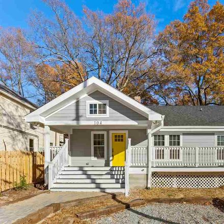 Rent this 3 bed house on 104 North Hyde Park Avenue in Durham, NC 27703