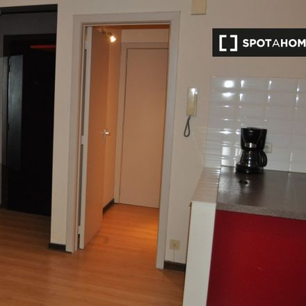 Rent this 0 bed apartment on Square Baron Alfred Bouvier - Baron Alfred Bouviersquare 6 in 1060 Saint-Gilles - Sint-Gillis, Belgium