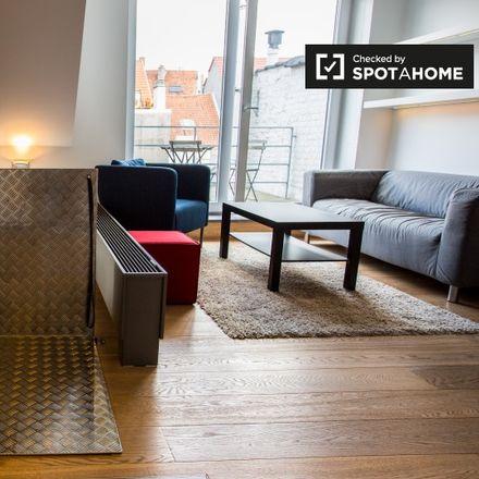 Rent this 1 bed apartment on Rue Moris - Morisstraat 49 in 1060 Saint-Gilles - Sint-Gillis, Belgium