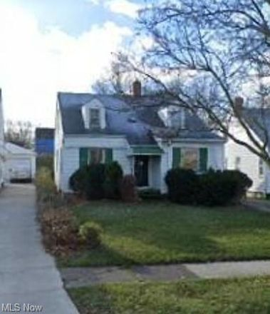 Rent this 3 bed house on 16110 Biltmore Avenue in Cleveland, OH 44128