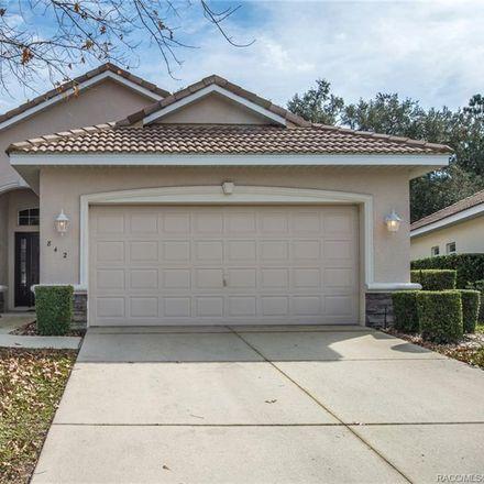 Rent this 3 bed house on 842 W Silver Meadow Loop in Hernando, FL