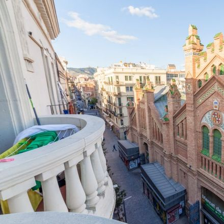 Rent this 3 bed apartment on Mercat de Sants in Carrer de Càceres, 08014 Barcelona
