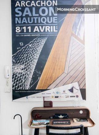 Rent this 2 bed apartment on 6 Rue du Maréchal Joffre in 33000 Bordeaux, France