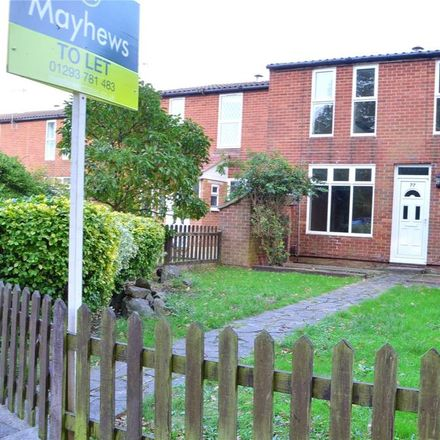 Rent this 3 bed house on Hyperion Walk in Horley RH6 7DB, United Kingdom