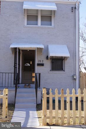Rent this 3 bed townhouse on 212 62nd Street Northeast in Washington, DC 20019