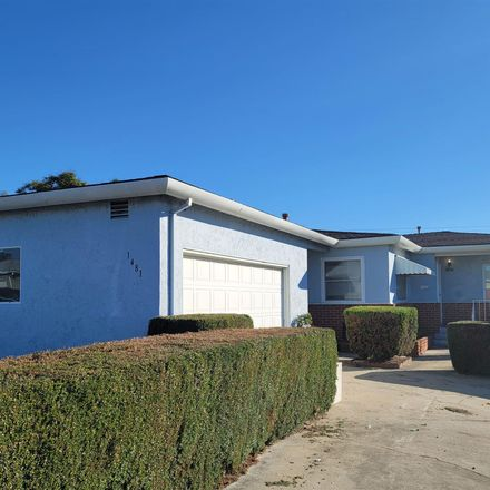 Rent this 3 bed house on 1481 Mary Lou Street in San Diego, CA 92102