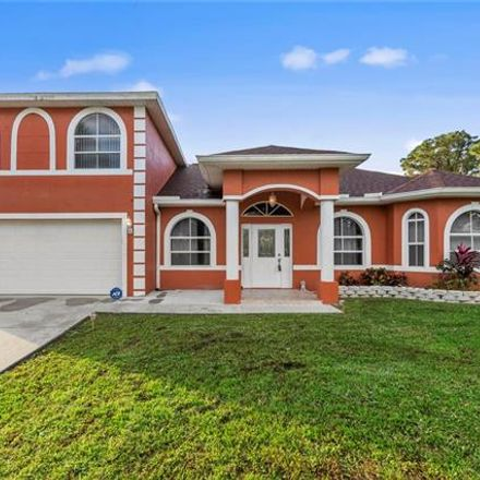 Rent this 3 bed house on 4701 4th Street West in Lehigh Acres, FL 33971