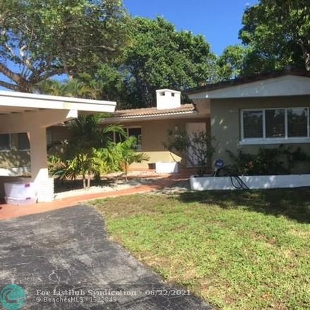 Rent this 3 bed house on 2117 Coral Gardens Drive in Coral Estates, FL 33306