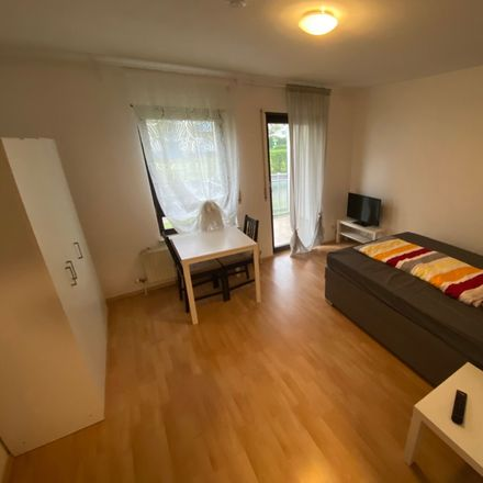 Rent this 1 bed apartment on Unterfeldstraße 14a in 76149 Karlsruhe, Germany